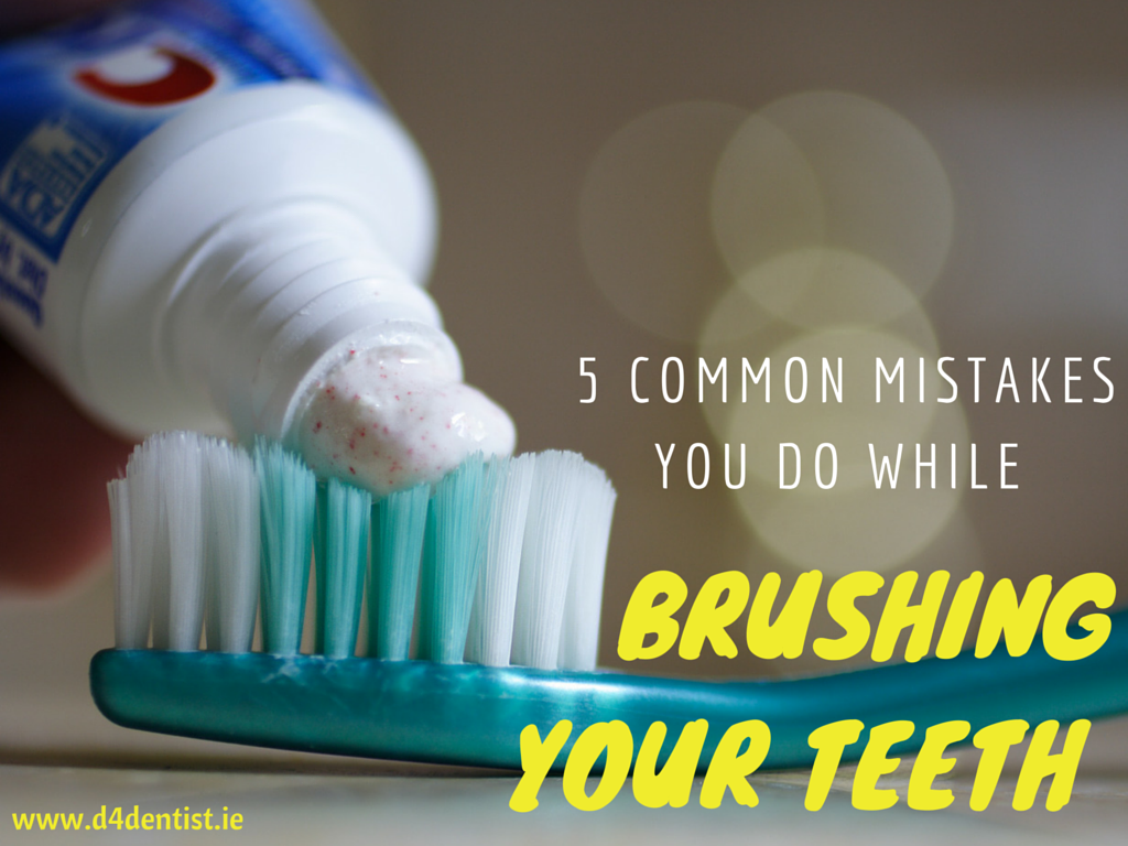 mistakes you do while brushing your teeth
